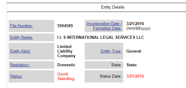 Joseph Mifsud 's lawyer Stephan Roh owned ILS International Legal Services.