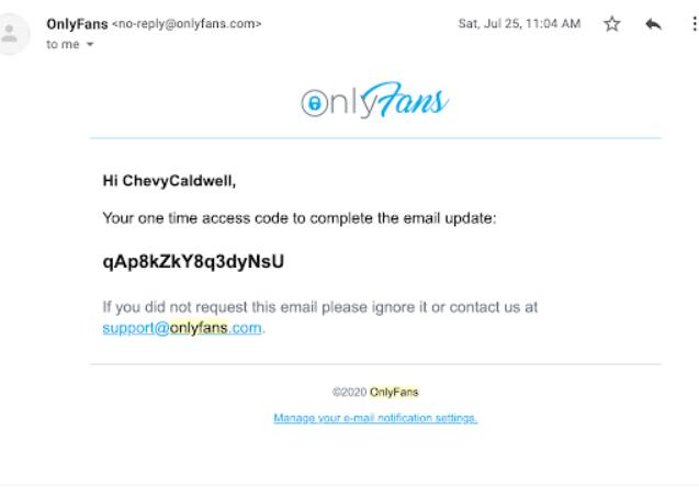 OnlyFans email to <em>Forensic News</em>